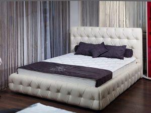 Кровати на заказ с мягким изголовьем