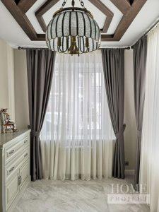 индивидуальный дизайн штор