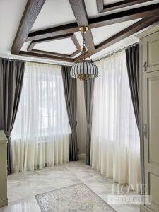 шторы из шерсти