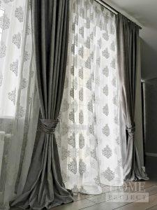 классические шторы на заказ