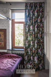 шторы с ярким принтом