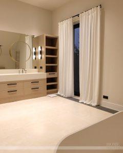 специальные шторы в ванную комнату