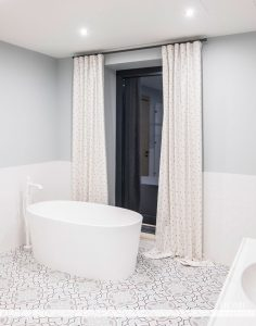 портьеры для ванной