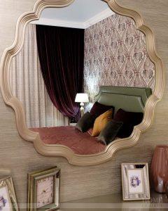 шторы из бархата для спальни