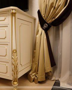 индивидуальная вышивка на шторах