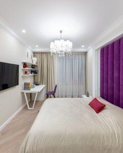 бархатные шторы для спальни