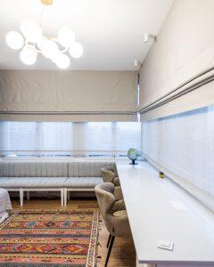 двойные римские шторы на заказ в Москве